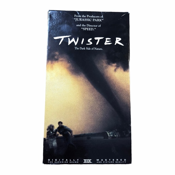 1996 Twister VHS Tape Warner Bros